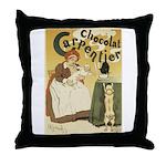Carpentier Chocolate 1895 Classic Poster Throw Pil