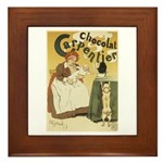Carpentier Chocolate 1895 Classic Poster Framed Ti