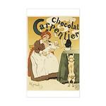 Carpentier Chocolate 1895 Classic Poster Sticker (