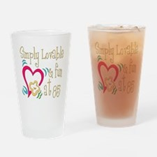 Lovable 85th Pint Glass