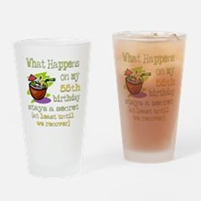 What Happens 55th Pint Glass