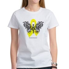 Sarcoma Tribal Butterfly Tee