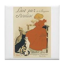 Pure Milk 1894 Poster Tile Coaster