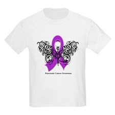 Pancreatic Cancer Tribal T-Shirt