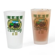 Tractor Tough 100th Pint Glass