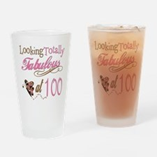 Fabulous 100th Pint Glass