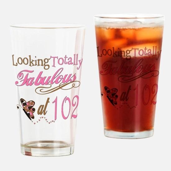 Fabulous 102nd Pint Glass