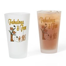Floral 105th Pint Glass