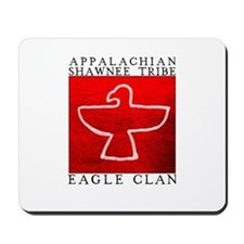 Eagle Clan Red Mousepad