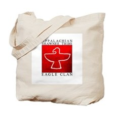Eagle Clan Red Tote Bag