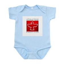 Eagle Clan Red Infant Bodysuit