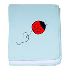 Cute Lady Bug baby blanket
