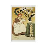 Carpentier Chocolate 1895 Cla Rectangle Magnet