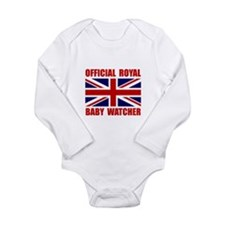 Cute Prince of wales Long Sleeve Infant Bodysuit