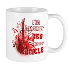 I'm Rockin' Red for my Uncle Mug