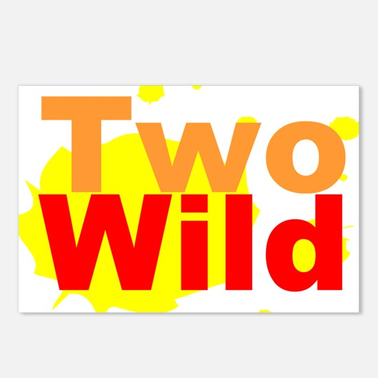Two Wild Postcards (Package of 8)