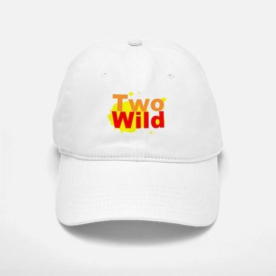 Two Wild Baseball Baseball Cap