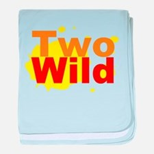Two Wild baby blanket