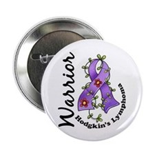"Hodgkin's Lymphoma Warrior 2.25"" Button (10 pack)"
