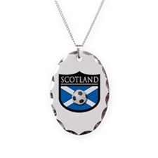 Scotland Soccer Patch Necklace