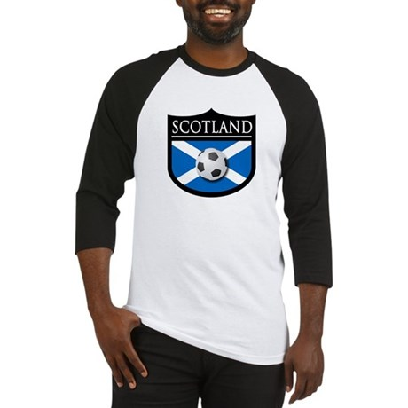 Scotland Soccer Patch Baseball Jersey