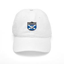 Scotland Soccer Patch Baseball Cap