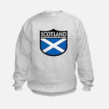 Scotland Flag Patch Sweatshirt