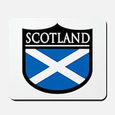Scotland Flag Patch Mousepad