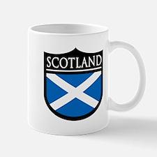 Scotland Flag Patch Mug