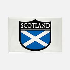 Scotland Flag Patch Rectangle Magnet