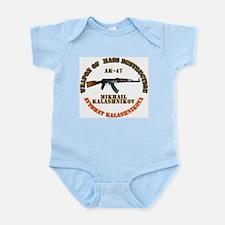 Weapon of Mass Destruction - AK47 Infant Bodysuit