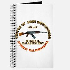 Weapon of Mass Destruction - AK47 Journal