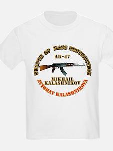Weapon of Mass Destruction - AK47 T-Shirt