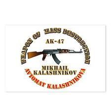 Weapon of Mass Destruction - AK47 Postcards (Packa
