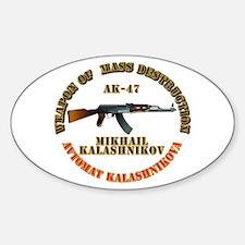 Weapon of Mass Destruction - AK47 Decal