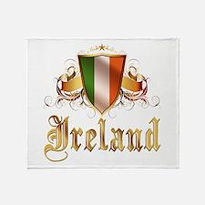 Irish pride Throw Blanket