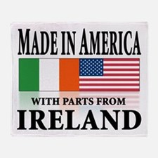 Irish American pride Throw Blanket