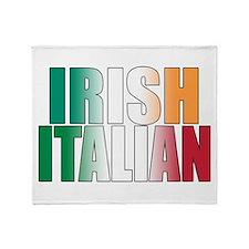 Irish Italian Throw Blanket