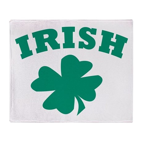 Irish Throw Blanket