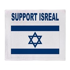 Peace for Isreal Throw Blanket