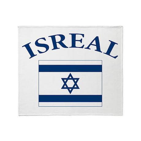 I love Isreal Throw Blanket