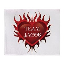 Team Jacob Throw Blanket