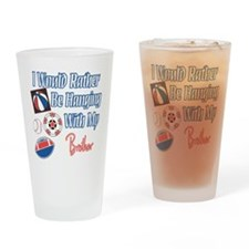 Sports Brother Pint Glass