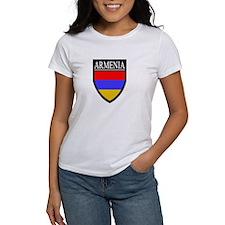 Armenia Flag Patch Tee