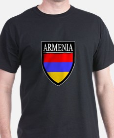 Armenia Flag Patch T-Shirt