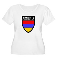 Armenia Flag Patch T-Shirt
