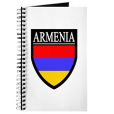 Armenia Flag Patch Journal