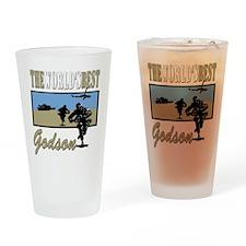 Military Godson Pint Glass