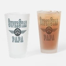 Superstar Papa Pint Glass