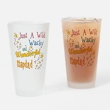 Wild Wacky Stepdad Pint Glass